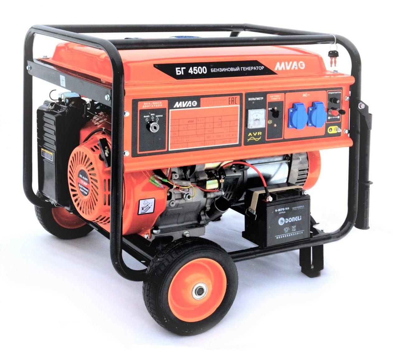 бензогенератор 4,5 кВт