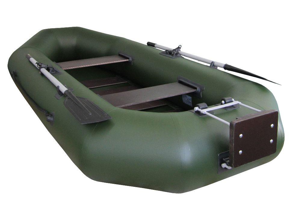 тест лодки с транцем